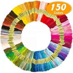 Embroidery Floss 150 Skeins Colored String