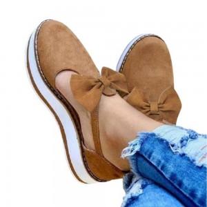 Women Bow Flat Shoes