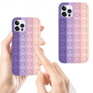 Fidget Anti-Stress Phone Case Relieve Stress Phone Cover Shockproof Phone Cover Silicone Case Style 3 for iPhone 11Pro MAX