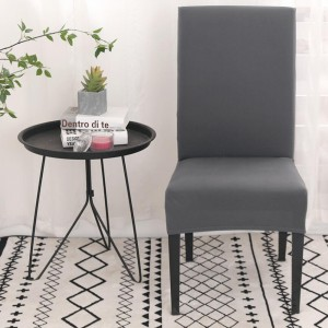 4pcs Stretch Dining Chair Slipcover Home Decor-Grey