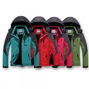 Women's Waterproof and Windproof Padded Jacket