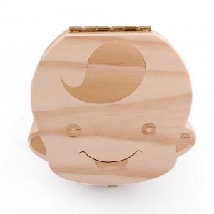 Baby Tooth Keepsake Box for Baby Boy