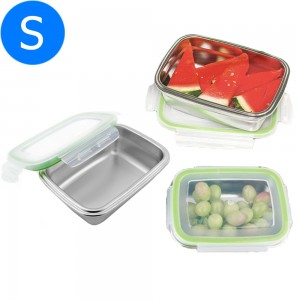 Small 350ML Stainless Steel Lunch Box with Lid