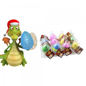 6X Novelty Toys Magic Crack Dino Eggs