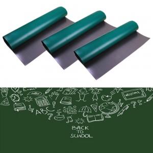 3 X Green Chalkboard Sticker Self Adhesive Chalk Board Sticker Chalkboard Contact Paper