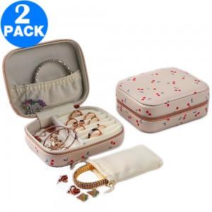 2 X Travel Jewellery Case Organiser Style 2
