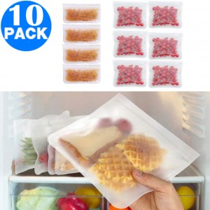 10pcs Kitchen Reusable Food Storage Bags