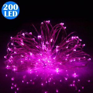 200LED Fairy Lights String Lights Battery Operated Remote Control