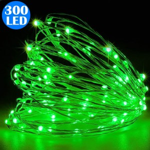 300LED Copper Wire Fairy Lights Battery Operated String Lights Remote Control