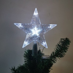 10LED Star Light Tree Topper Christmas Glowing Festival Supplies