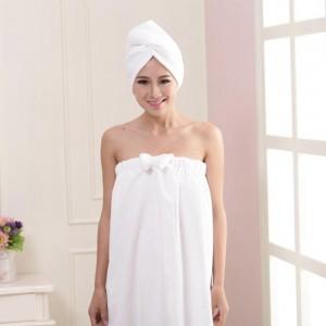 Woman Hat Bathing Towel Shower Supply