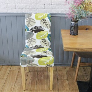 4X Printed Pattern Stretch Dining Chair Slipcovers Home Decor-Style 2