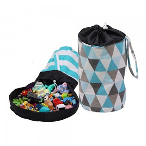 Toys Storage Basket and Play Mat Style 1 Large