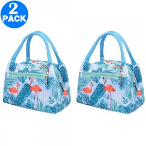 2 X Insulated Lunch Bags Style 4