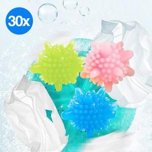30pcs PVC Laundry Washing Cleaning Balls Home
