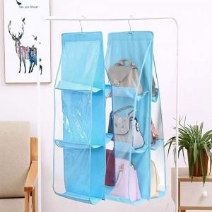 Handbag Organiser Home Storage-Blue