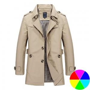 Men Fashion Trench Coat