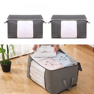 2 Pieces Clothes or Quilt Storage Bags Small