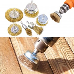 6Pcs Electric Drill Wire Brush Set