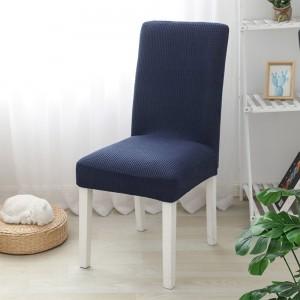 2X Home Decor Elastic Grid Chair Covers-Navy