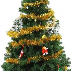 4Pcs Gold Christmas Tinsel Garland Xmas Decor Home Decor