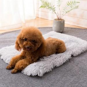 2 X Plush Soft and Warm Pet Pad Pet Bed XL Grey