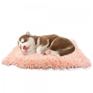2 Pack 46 x 62cm Pink Plush Soft and Warm Pet Pad Pet Bed