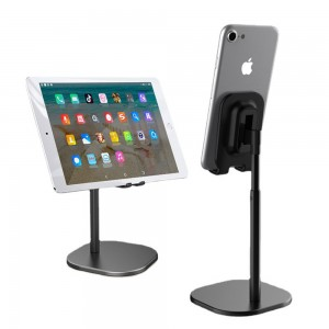 1X Accessories Height Adjustable for Phone or Tablet Holders-Black