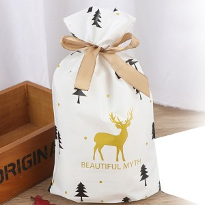 1Set 50pcs Christmas Tree Pattern Christmas Package Bags