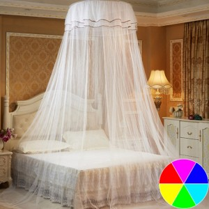 Bed Canopy Dome Anti Mosquito Net Curtain Round Dome Tent