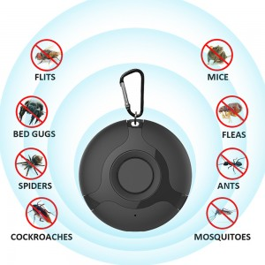 Ultrasonic Pest Mosquito Repeller USB Rechargeable Mouse Reject Repeller Portable Insect Repellent Quiet Mosquito Repellent Device