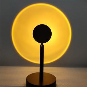 LED Projector Light LED Sun Sunset Rainbow Projector Atmosphere Light Lamp USB Home Decoration Light Style 1