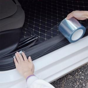 2 Rolls 15 x 100cm Car Protection Films Anti-Scratch Paint Protective Film Sticker