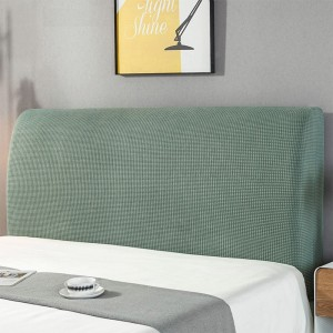Elastic Bed Headboard Cover Bed Headboard Slipcover Protector Cover Dustproof Bed Head Cover for Bedroom Home Decor Green M