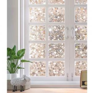 4Pcs 45 x 100cm Privacy Glass Window Films Window Sticker Static Cling Glass Films
