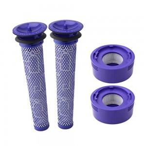 2 X 2Pcs Dyson V7/8 Motor Filter Kits
