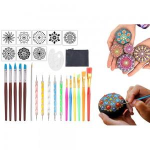 27Pcs Mandala Dotting Tools for Painting Rocks