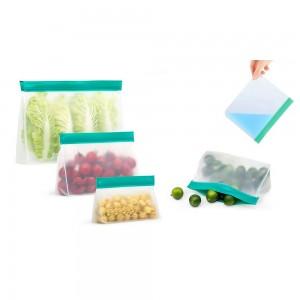 3 X Same Size Reusable Ziplock Leakproof Snack Bags