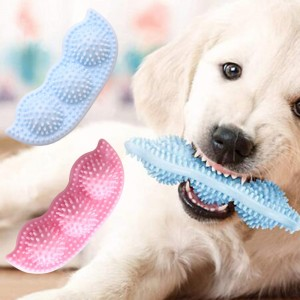 2pcs Toy Pet Teething Chew Toys-Blue and Pink