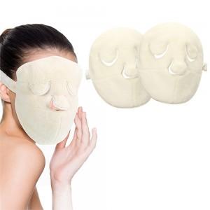 2 X Reusable Face Towel Mask Wearable Facial Steamer Towel