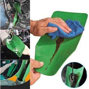 Flexible Oil Draining Funnel Tool