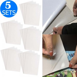 20PCS Adhesive Large Puzzle Saver Sheets Peel Sticker Protective Films for 1000 Pieces Puzzles