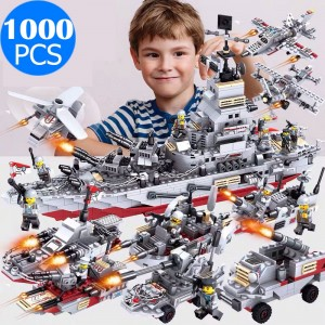 1000PCS 25 Styles Kids Building Bricks Blocks Toys Set Compatible with LEGO
