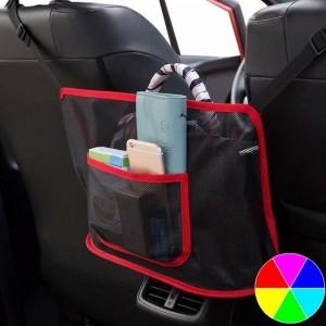 Handbag Storage Net Bag Handbag Holder with Car Back Rear Seat Organizer Mesh Pocket