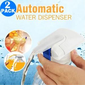 2 X Automatic Water Pump Beverage Dispenser Liquid Press Pump with Straw