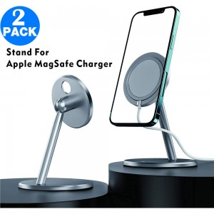 2 X Wireless Charger Stand for Apple MagSafe Charger