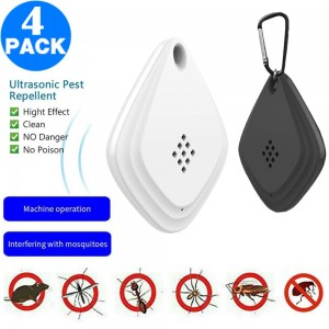 4 Pack Same Color Outdoor Portable USB Pest Repellent Indoor Ultrasonic Insect Pest Repellent