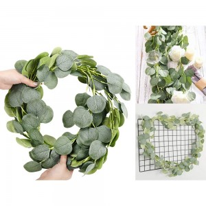 Artificial Greenery Leaves Vines Plants Home Office Wedding Decoration Photography Props Style 1