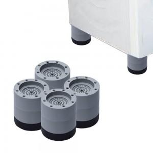 4pcs Anti Vibration Pad Non Slip Shock Proof Washing Machine Mats Height 6cm