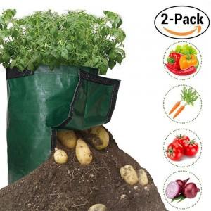 2X 50L Potato Planter Bags